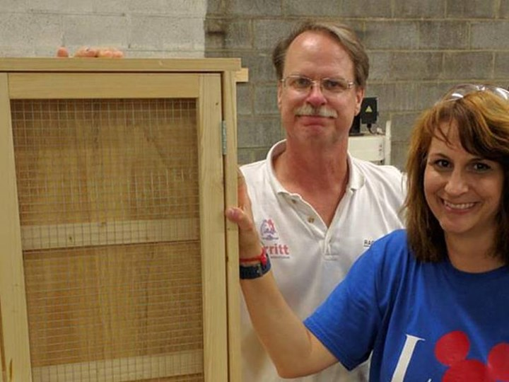 Woodworking with Jeff!